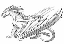 icewing wings of fire_401680 18 images of wings of fire nightwing coloring pages wings of on fire coloring pictures