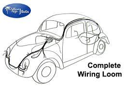 vw complete wiring kit, beetle sedan 1958 1959 vw parts jbugs com 1963 vw bug wiring harness Vw Bug Wiring Harness #22