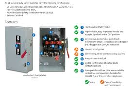 ge 30 amp 240 volt non fuse indoor safety switch tgn3321cp the Fuse Box Safety Switch click here for more information on electronic recycling programs fuse panel safety switch