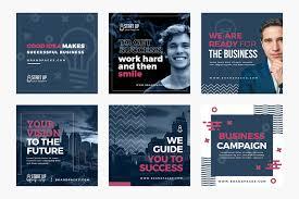 Social Media Design Templates Social Media Templates Pack Vol 6 Brandpacks