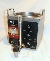Satellite coffee systems shop jes for a full line of commercial satellite coffee systems & acces, and find the right satellite coffee systems & acce for your restaurant or foodservice business. Curtis Gem 3 1 5 Gallon Coffee Satellite Server Tilt Release No Lid Ebay