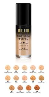 milani 2in1 foundation and concealer shades milani foundation shades milani foundation swatches good
