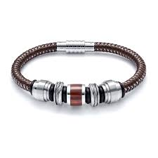 elements red tiger s eye bead bracelet