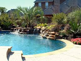 ... Exterior Design, Pool With Waterfall For Lovely Small Pool With  Waterfall Natural Decorations Concept With ...