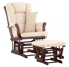 fantastic nursery chair and ottoman nursery rocker and gliders ottoman wood rocking chair with padded cushion living room furniture modern rocking chair for