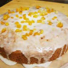 Lemon Coconut Thyme Drizzle Cake Big Friendly Grub