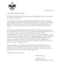 eagle scout candidate letter of recommendation 11 best eagle scout letters of recommendation images calligraphy