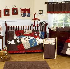 amazing brown fabric cowboy baby bedding sets brown wool rug natural wooden laminate flooring brown