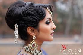 indian wedding reception bridal makeup and hair gokalove boston makeup artist