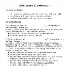 Java Developer Resume Fascinating 28 Java Developer Resume Templates Samples Examples Format