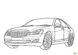3508x2480 mercedes benz s class coloring page free printable coloring pages