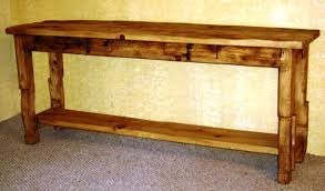 sofa wonderful rustic sofa tables with storage 16 diy wood console table alluring rustic sofa tables