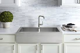 farmhouse stainless steel sink stainless steel farm sinks from via kraus 36 inch farmhouse double bowl