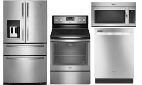 Stainless Kitchen Appliance Packages Stainless Steel Appliance Package Wrx735sdbmwfe745h0fswdt720padm