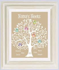 mother s day gift grandma gift family tree personalized gift for grandmother grandkids names can be done in other colors
