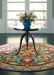 awesome round area rugs colored 7 ft contemporary nice 4 regarding foot ideas 5