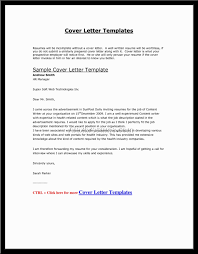 Letter Example Via Email Only Perfect Resume Format