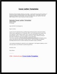 Sample Cover Letter For Sending Resume Via Email Resume And Cover