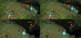 Suggestion] Hide creeps and neutrals health bars when they're full - Dota2  Dev