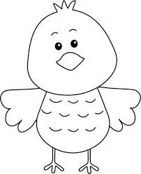 cute animals clipart black and white. Modren White Black And White Clip Art Free Birds  Cute Black White Bird Clip Art  Image  Outline Of  DIY Pinterest Art And Animals Clipart B