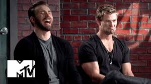 Human Dorito Chris Evans Chris Hemsworth Have The Best Time Of