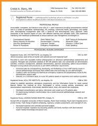 An Example Of A Good Resume Mesmerizing 4848 Nurse Resume Sample With Experience Wear48014