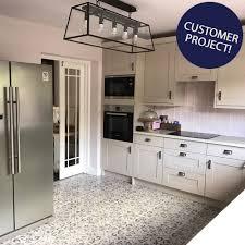Blue Floor Tiles Kitchen Antique Vintage Blue Floor Tiles Harran Tiles 450x450x95mm Tiles