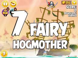 Angry Birds Seasons Fairy Hogmother Level 1-7 Walkthrough