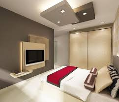 lighting room. This Contemporary Bedroom Gets It Right With Its Layered Linens And Pillows, Lights (from Recessed Lighting Behind The TV Walls To Ones On Room