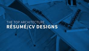 The Top Architecture Résumé/cv Designs | Archdaily