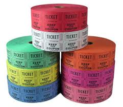 custom roll tickets roll tickets double roll raffle tickets custom printed tickets