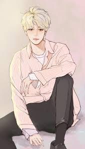 Anime Drawing Coloring Pages Bts Jimin Art Boy Pinterest Kpop Fanart
