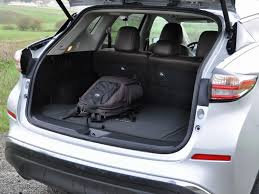 the 2016 nissan murano offers plenty of cargo room and a split folding rear seat