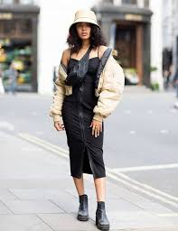 Incredible dresses ideas for sunny days Summer Dresses Pinterest Who What Wear Uk The Best London Street Style Looks Who What Wear Uk