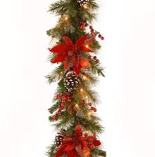 Garland With Red And White Lights
