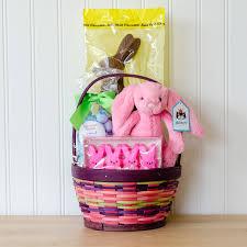 thank you easter bunny gift basket