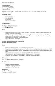 Quality Inspector Resume 17 Cover Letter For Control Assurance