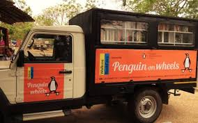 Small Picture Attention bookworms Penguin India introduces a book truck