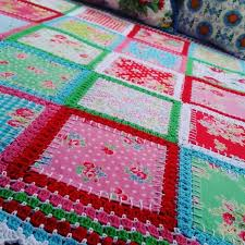 Fabric Crochet Quilt Is The Project You've Been Looking For & Fabric Crochet Quilt Adamdwight.com