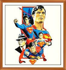 Superman 99 Cross Stitch Chart 11 1 X 12 0 Inches 5 49