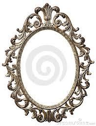 oval frame design. Vintage Oval Frame Design M