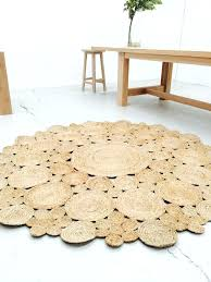 straw rug flooring awesome round braided jute area by rugs for outdoors