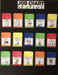Classroom Chore Chart Chore Charts Witj Poclets If You Like These Labels I Have