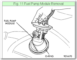 how do i replace a fuel pump on a dodge stratus fuel pump module installation