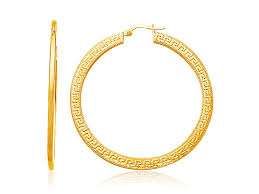 stunning big gold hoop earrings eternity jewelry jewelryrosy large extra yellow richard cannon mens rose stud