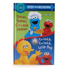 Sesame Street Cookie Monster Plush Toy With Book Bundle Baker Baker