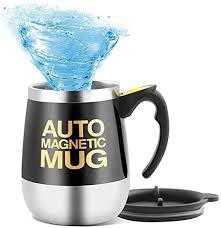 Get it tomorrow, may 4. Amazon Com Mengshen Self Stirring Mug Coffee Cup Auto Magnetic Mixing Tea Hot Chocolate Cocoa Protein 450ml A006m Black Kitchen Dining