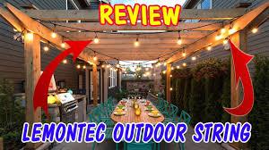 Lemontec Commercial Grade Outdoor String Lights Lemontec Commercial Grade Outdoor String Lights Overview 2019