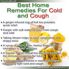 best home medicine for cold and cough