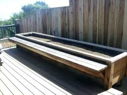 bench with planter bench and planter box planter box bench planter box benches bench seat with